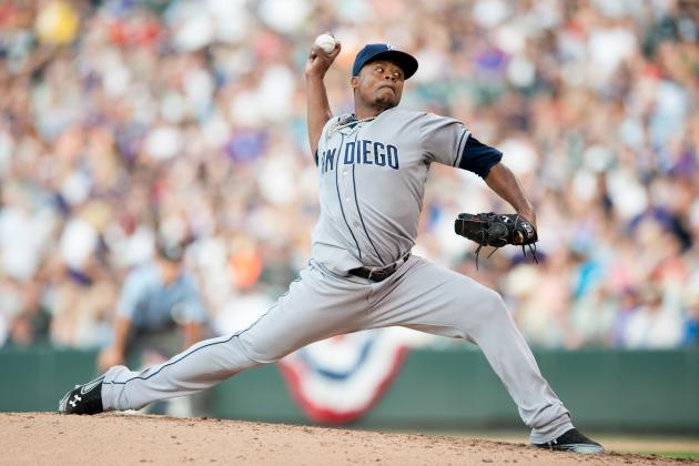 MLB Trade Speculation: Will Edinson Volquez Be on the Move from San Diego?