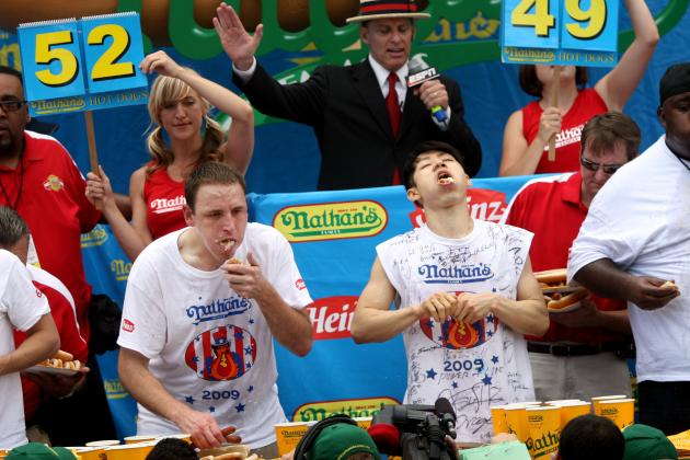 Nathan's Hot Dog Eating Contest 2012: Top Candidates to Dethrone Joey Chestnut