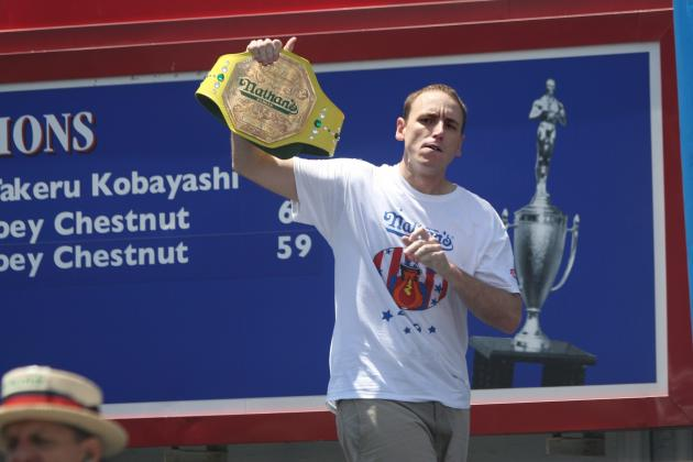 Joey Chestnut: Field Will Provide Little Challenge for 5-Time Champion
