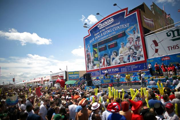 Nathan's Hot Dog Eating Contest 2012 Results: Live Reaction and Analysis