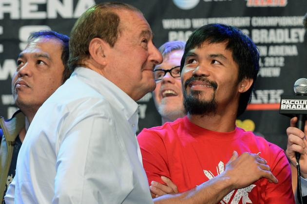 Mayweather vs. Pacquiao: Arum Says Odds Are Very Good for a 2013 Bout
