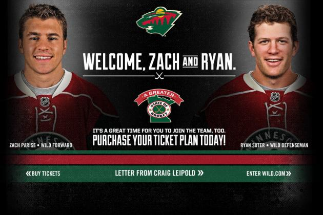 Zach Parise and Ryan Suter Commit Long-Term to the Minnesota Wild