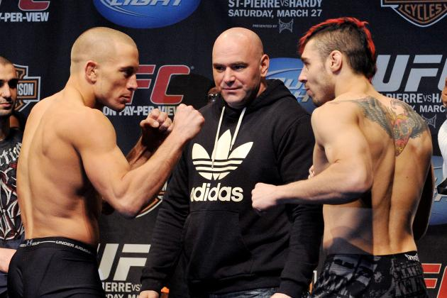 GSP Believes Dan Hardy Can Be a Future UFC Champion