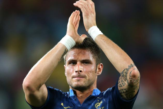 Olivier Giroud: His Role at Arsenal Has Changed with Van Persie's Decision