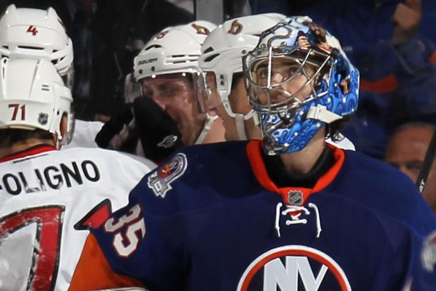 Jets Agree with Ex-Islanders Goalie Montoya