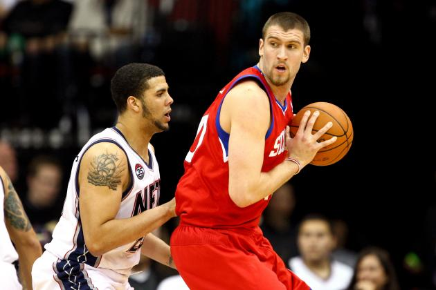 NBA Free Agency 2012: Re-Signing Spencer Hawes Is Wise Move for 76ers