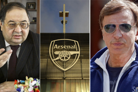 Arsenal FC: Civil War as Alisher Usmanov Shares Discontent with Stan Kroenke