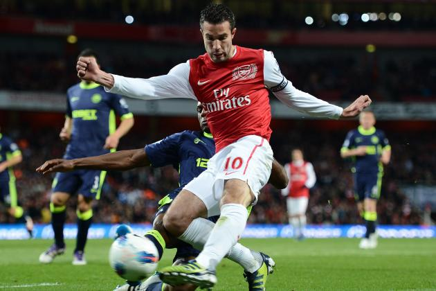 No New Arsenal Deal: Van Persie