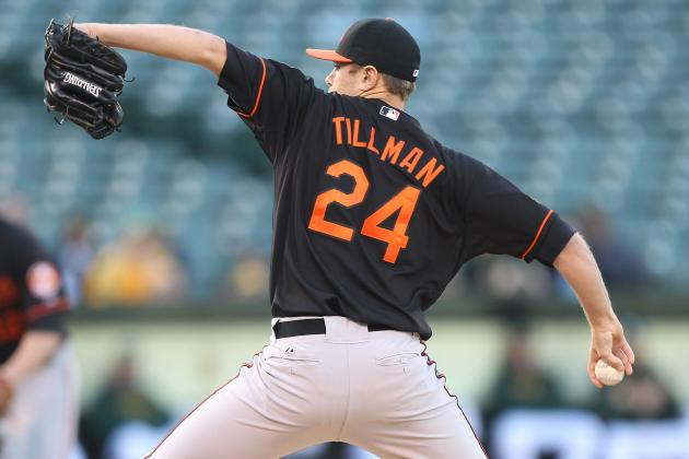 Chris Tillman Finally Arrives?