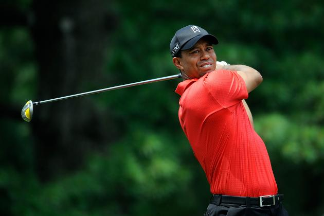 Where Tiger Woods and Other Notables Stand After Day 1 of Greenbrier Classic