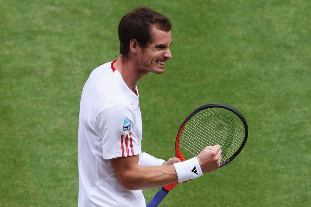 Wimbledon 2012 Semifinals: Andy Murray vs. Jo-Wilfried Tsonga
