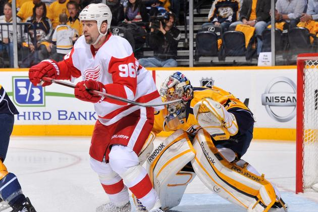 Detroit Red Wings Free Agency: Tomas Holmstrom Deserves Roster Spot This Season