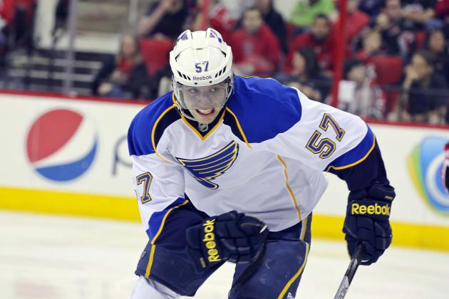2012 NHL Free Agency: St. Louis Blues Give David Perron the Contract He Deserves