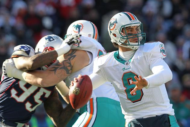 Miami Dolphins: Quarterback Breakdown Heading into Training Camp
