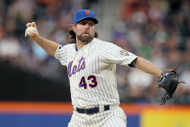 MLB All-Star Game: Why R.A. Dickey Shouldn't Be the NL Starter