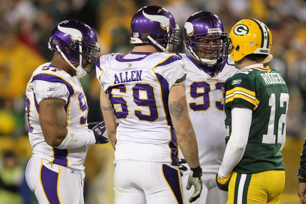 Minnesota Vikings: 2012 Defensive Line Will Prove to Be Scary for Opposing QBs