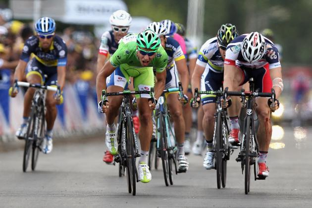 Tour De France 2012 Stage 6: Peter Sagan Wins but Crashes Again Wreaking Havoc