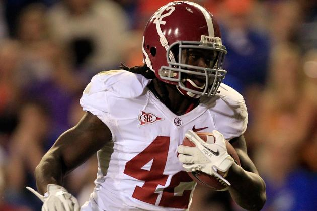 Alabama 2012:  Saban No Stranger to Running Back-by-Committee