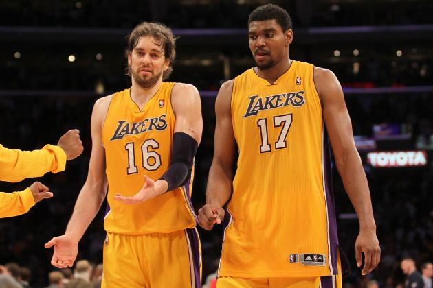 Lakers Rumors: Pros and Cons of Not Trading Andrew Bynum and Pau Gasol