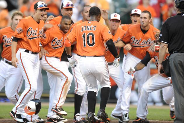 Ranking Midseason Records for All 30 MLB Teams from 2011-2012