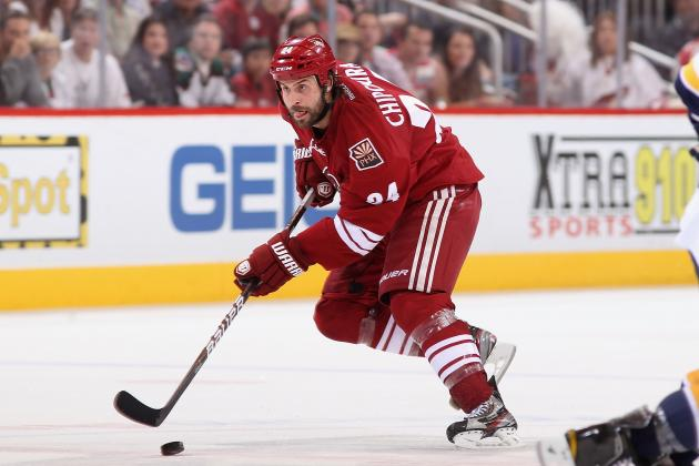 2012 NHL Free Agents: Phoenix Coyotes Re-Sign Kyle Chipchura to One-Year Deal