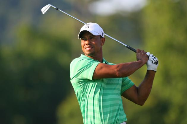 Greenbrier Classic 2012: Tiger Woods and Phil Mickelson Both Miss Cut