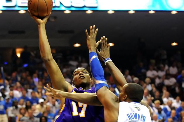 Los Angeles Lakers:  Andrew Bynum and Magic Johnson Create an Awkward Situation