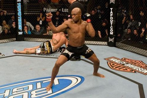 UFC 148: Anderson Silva and