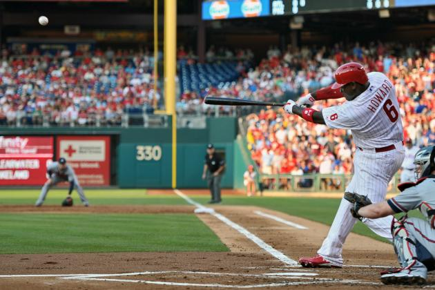 Ryan Howard's Return to the Phillies Lineup Spoiled by the Bullpen
