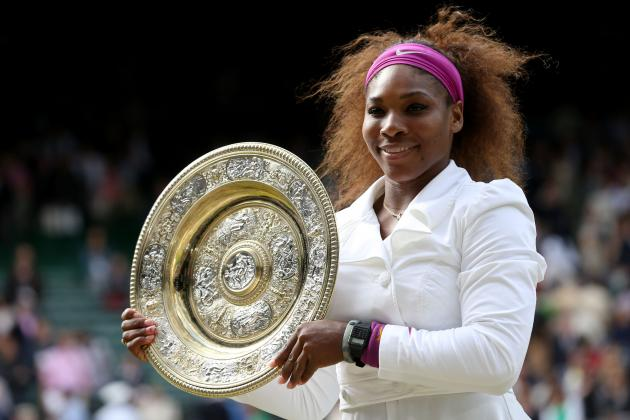 Serena Williams Takes Home Wimbledon Title with Win over Agnieszka Radwanska