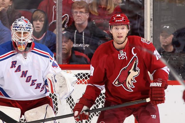 NHL Trade Rumors: Are the New York Rangers Moving on from Rick Nash?