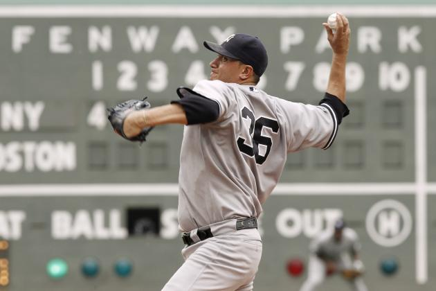Freddy Garcia, New York Yankees Overpower Boston Red Sox, Win 6-1