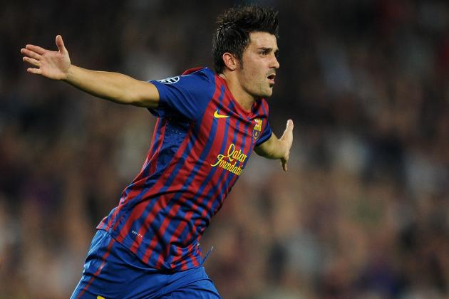 Twitter World Ablaze with Rumours of a Robin Van Persie for David Villa Exchange