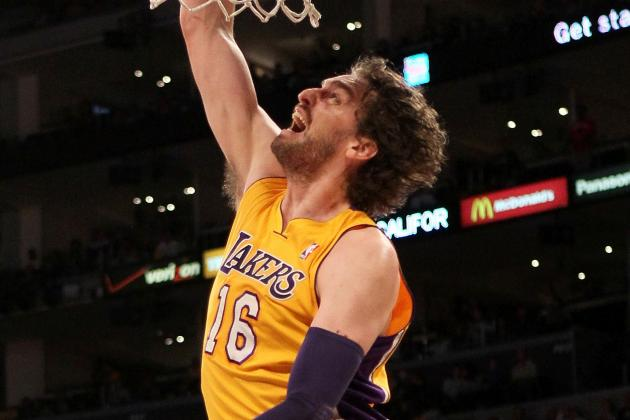 Lakers Trade Rumors: Most Likely Destinations for Pau Gasol