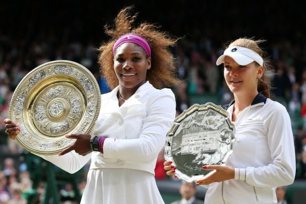 Wimbledon Women's Final 2012: Results for Serena Williams vs Agnieszka Radwanska