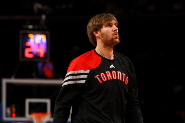 2012 NBA Free Agency: Aaron Gray Re-Signs with Toronto Raptors