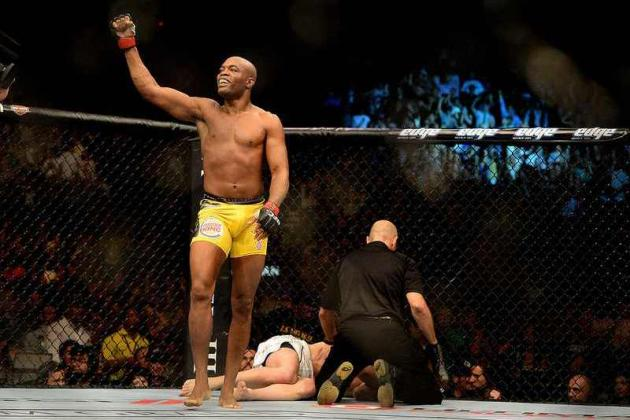 UFC 148 Results: Anderson Silva Stops Chael Sonnen in 2