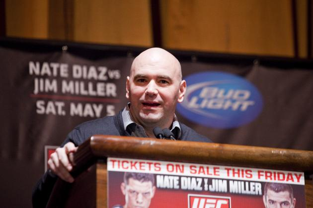 UFC 148 Results: Dana White Says 'Anderson Silva Is My Favorite Fighter'