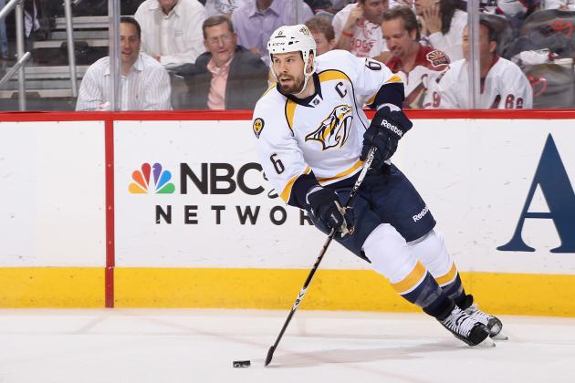 NHL Trade Rumors: New York Rangers Could Show Interest in Shea Weber