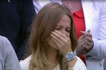 An emotional day for the Murray family at ‪#wimbledon