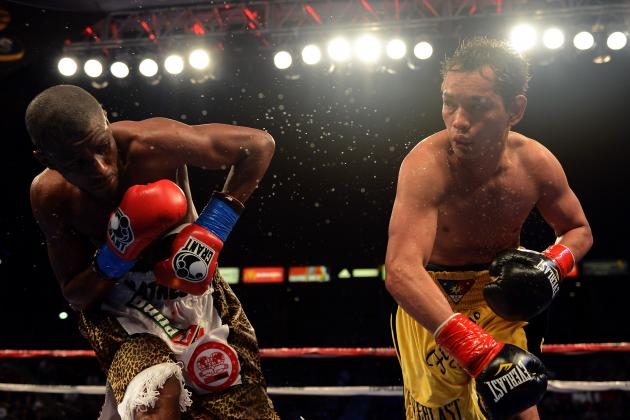 Donaire vs. Mathebula: Easy Win Proves Donaire Is World's Top Super Bantamweight