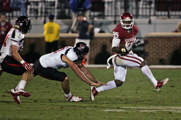 Oklahoma Football: Breaking Down 2012 Impact of WR Ryan Broyles' Departure