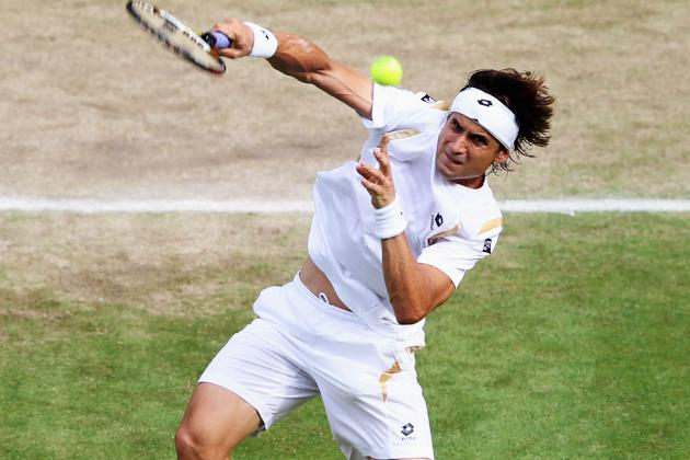 Post-Wimbledon 2012 Tournaments: David Ferrer and Janko Tipsarevic in Action