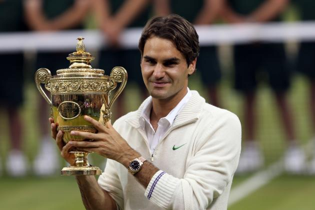 Roger Federer Rolls Back the Years to Defeat Andy Murray in Wimbledon Final