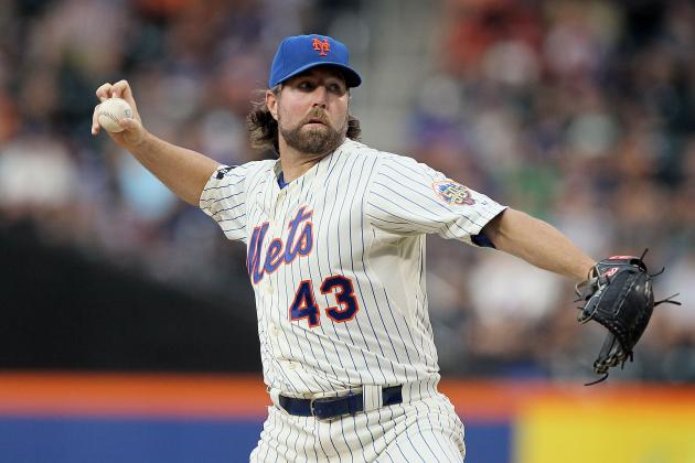 MLB All-Star Game: Why R.A. Dickey Should Start for the NL