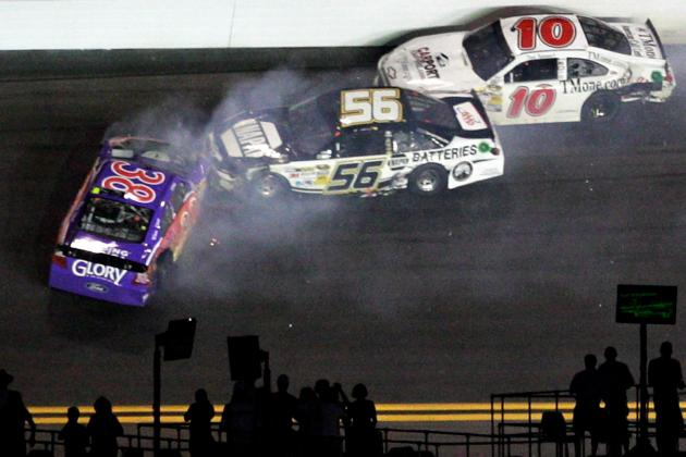 NASCAR: Chaotic Daytona Finish Proves Smith's Mandatory Caution Idea Reckless