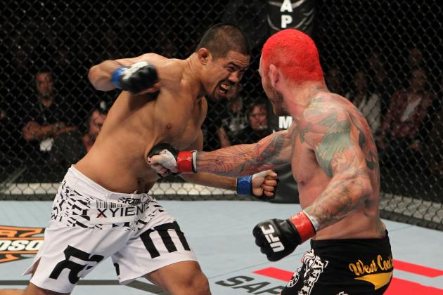 Mark Munoz Plans on Making His Case for Title Contention Against Weidman