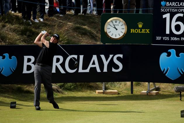 Report: Phil Mickelson Granted Late Entry to Play Scottish Open This Week
