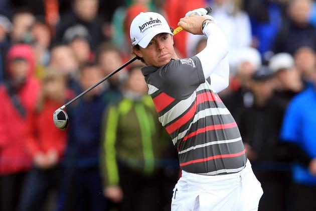Rory McIlroy Immortalized with a Mural in the Northern Ireland