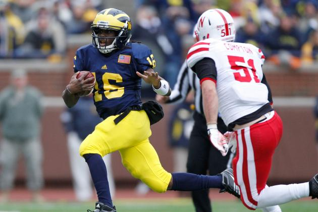 2012 Maxwell Award Watch List: Denard Robinson, Montee Ball Lead Big Ten Players